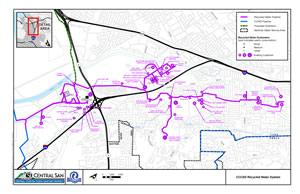 Recycled Water Distribution System Map - tn